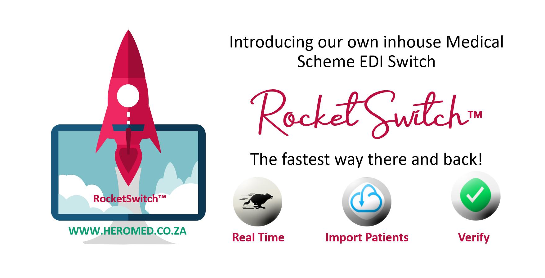 Medical Practice Management tools. EDI Switch Digital online tools Medical scheme switch